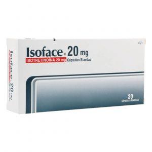 ISOFACE 20MG X 30 CAPSULAS BLANDAS
