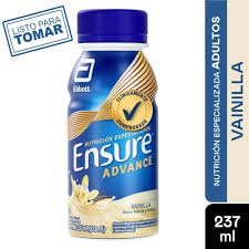 ENSURE ADVANCE LIQUIDO VAINILLA 237 ML