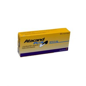 ATACAND PLUS 16/12.5 MG 30 TBS
