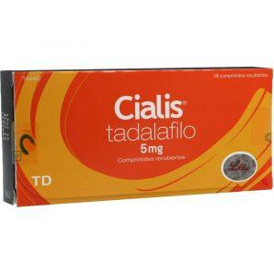 CIALIS 5 MILIGRAMOS 28 TBS