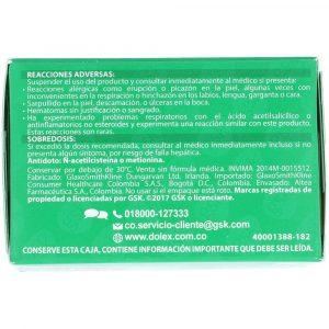 DOLEX  500 X 24 RAPIDA ACCION