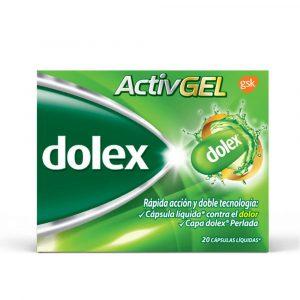 DOLEX ACTIVGEL X 10 CAPSULAS