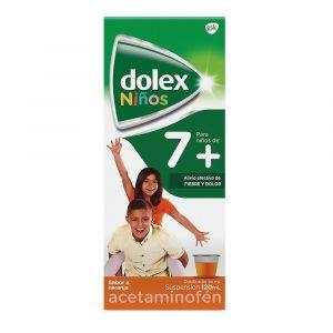 DOLEX JARABE NIÑOS 7 X 120 ML