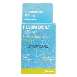 FLUIMUCIL 100 MG 30 SBS