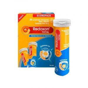 REDOXON EFERVESCENTE 20 TAB. 2 UDS