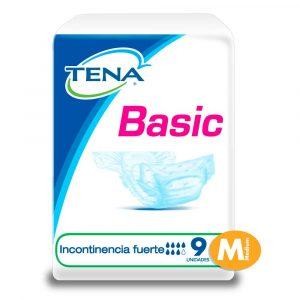 TENA BASIC MEDIANO X 9 UNIDADES