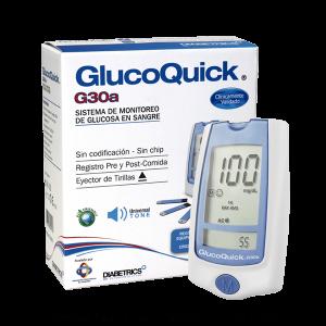 Sistema de Monitoreo de Glucosa en Sangre GLUCOQUICK G30A